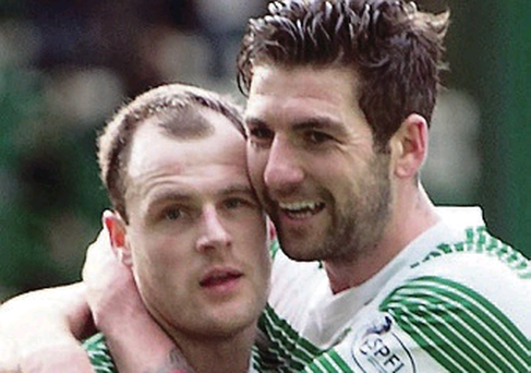 Celtic's Anthony Stokes receives praise from Charlie Mulgrew