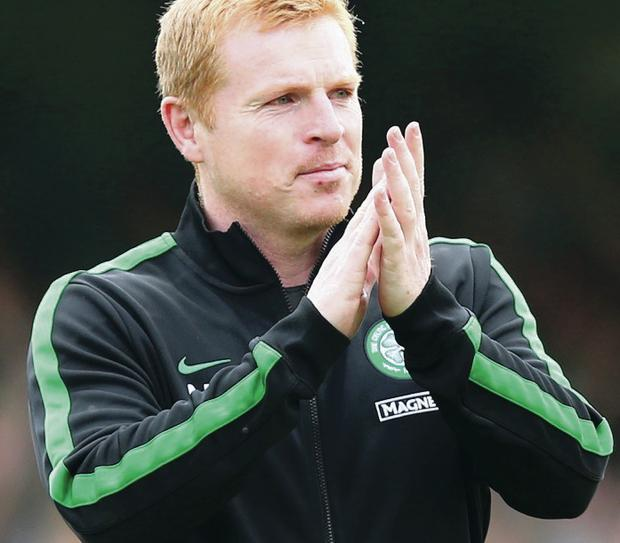 Long haul: Neil Lennon marked four years as Celtic boss yesterday