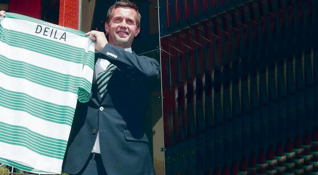 Head Bhoy: Ronny Deila is the new boss at Parkhead