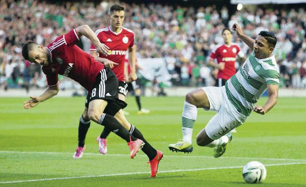 Euro u-turn: Celtic lost 6-1 on aggregate to Legia Warsaw in the Champions League