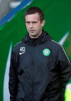 Second chance: Ronny Deila and Celtic are back in Europe