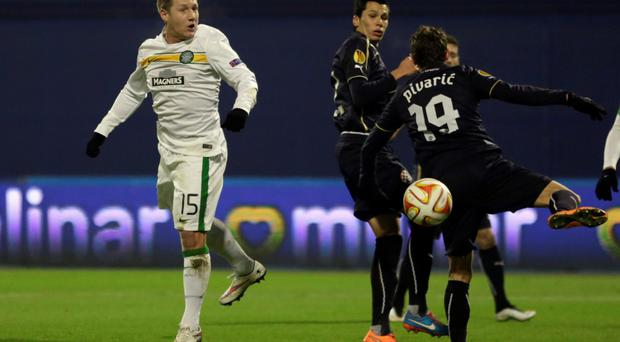 Holdinig out: Kris Commons hoping for better contract