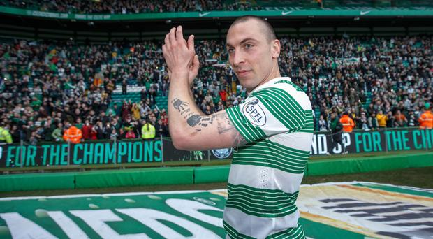 Scott Brown complained about the state of the Hampden Park pitch