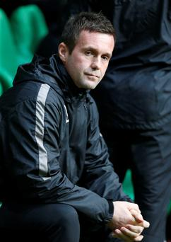 Up and down: Ronny Deila has had a season of two halves