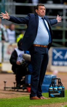 Fresh appeal: St Johnstone manager Tommy Wright