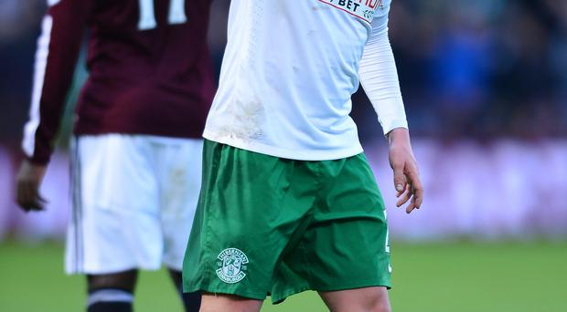 Transfer target: Scott Allan stil at Hibs but wanted by both Rangers and Celtic