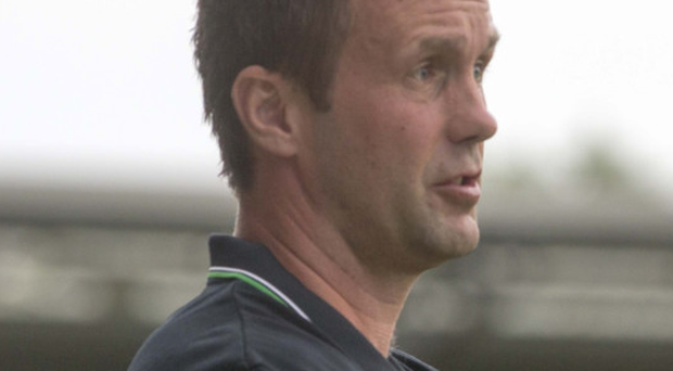Focused: Celtic boss Ronny Deila cannot afford to lose on Thursday but Pat Bonner can see the Hoops inflicting damage