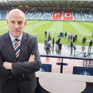 Ready: Mark Warburton at Hampden