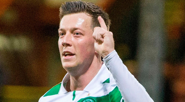 Utility man: Callum McGregor can play a number of positions