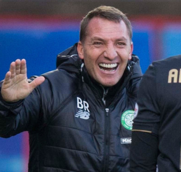 That's my Bhoy: Brendan Rodgers after Stuart Armstrong's goal