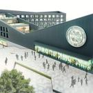 Future planning: Imagery of Celtic's proposed development