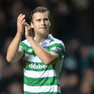 Pointing the way: Erik Sviatchenko says Celtic are hungry to keep hold of that winning feeling