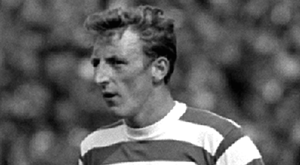 Glory days: Tommy Gemmell was one of the world's greatest left-backs