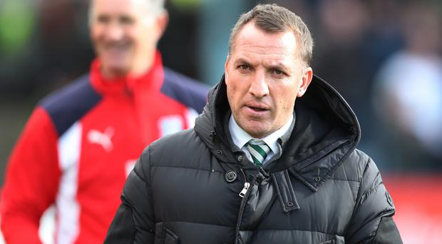 Cautious: Brendan Rodgers won't take unnecessary risks
