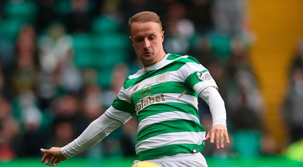 In form: Leigh Griffiths scored for Celtic against Kilmarnock