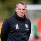 Optimistic: Brendan Rodgers says he wants Celtic to put on a performance to be proud of in Paris