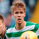 Promising: Kristoffer Ajer impressed on Saturday
