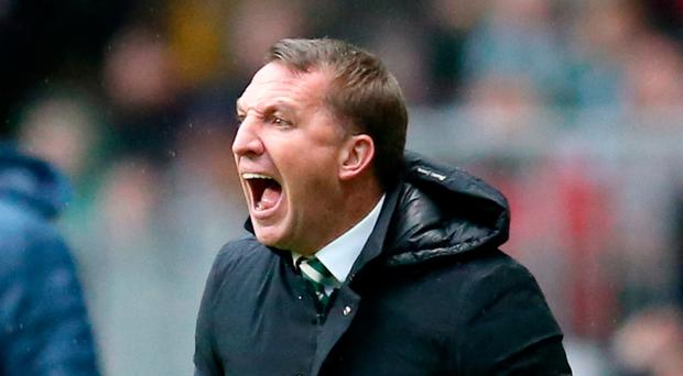Mind games: Brendan Rodgers spoke about opponents' play