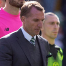 Challenge: Brendan Rodgers saw Celtic slip up again