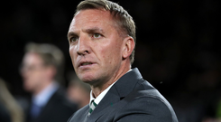 Tough test: Brendan Rodgers is hoping for a better performance tonight
