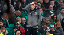 Missed chance: Neil Lennon's Celtic could have secured title