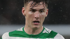 Cup bid: Kieran Tierney is available for final showdown