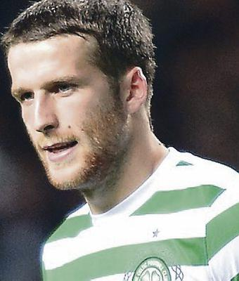 Equaliser: Adam Matthews saved the day for Celtic on Saturday