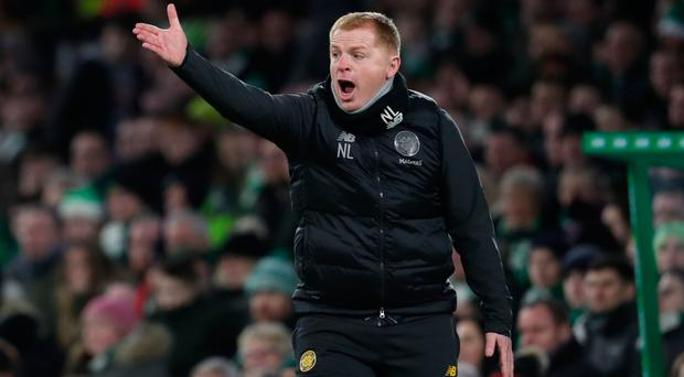 Happy boss: Neil Lennon is loving life back at Parkhead