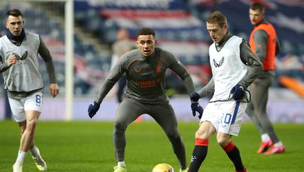 Main men: James Tavernier and Steven Davis have been pivotal to Rangers' dominance this season. Credit: Ian MacNicol/Getty Images