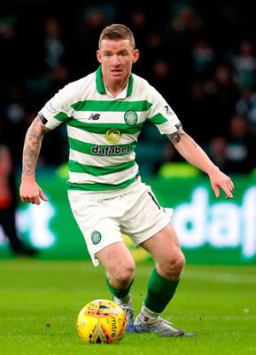 Fresh start: Jonny Hayes has left Celtic after three years with the Scottish champions