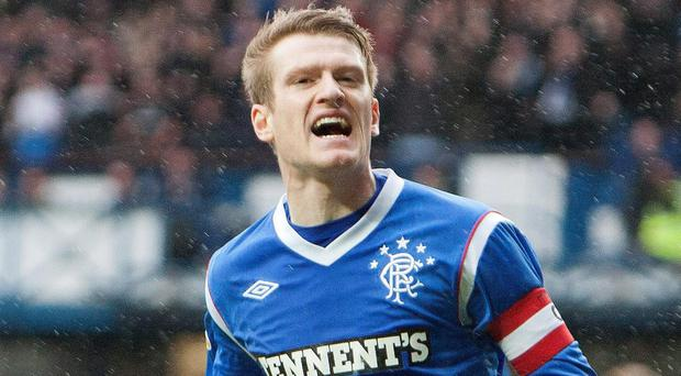 Back to the future: Davis played for Rangers from 2008-12