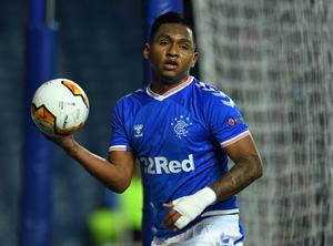 Dried up: Alfredo Morelos has been struggling for goals since the winter break