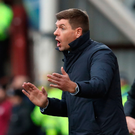 Listen up: Steven Gerrard tries to get his message across