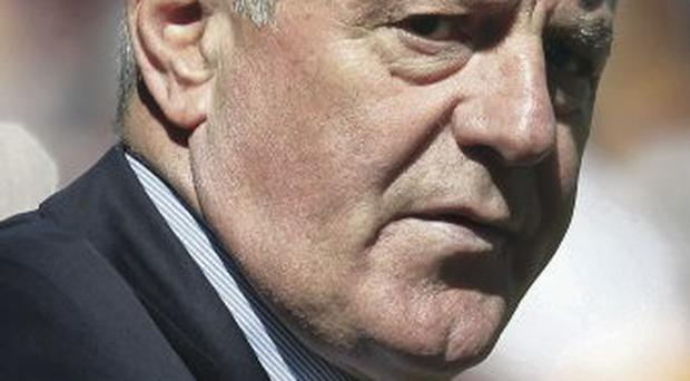 Exit door: Walter Smith has quit as Rangers chairman