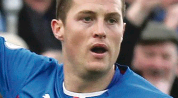 Jon Daly was on the scoresheet for Rangers