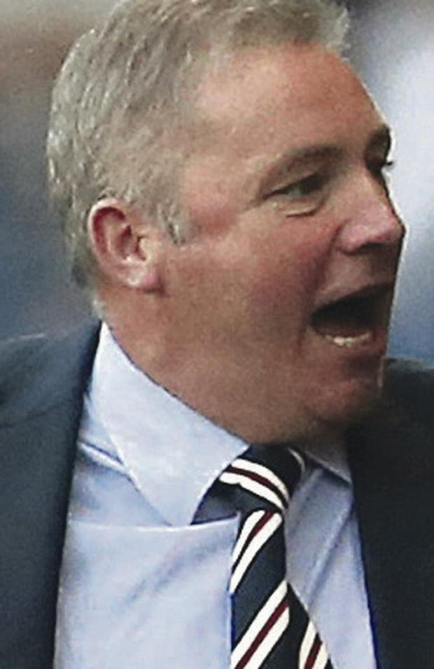 Bounce back: Ally McCoist has just four days until next game