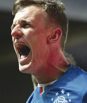 Dean Shiels netted a brace for Rangers on Saturday
