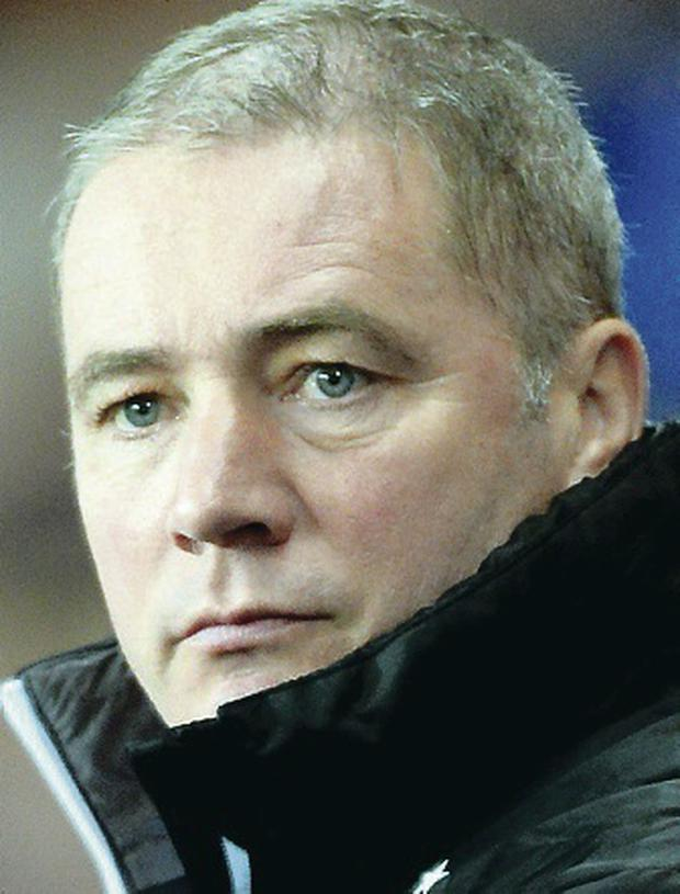 Focused: Ally McCoist preferred to concentrate on football