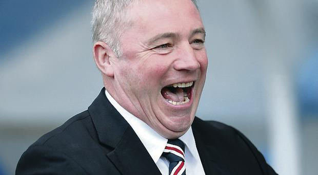 Care to share: Gers boss Ally McCoist said he dipped into his own pocket to help the struggling club