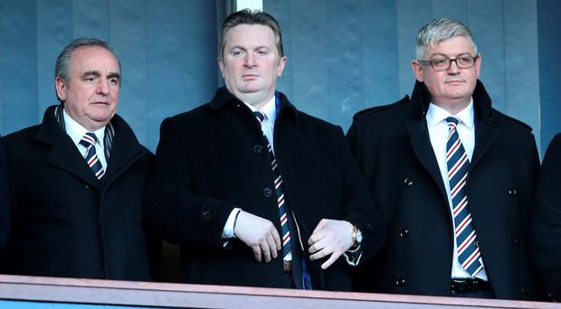 On way out: Derek Llambias was appointed by Mike Ashley