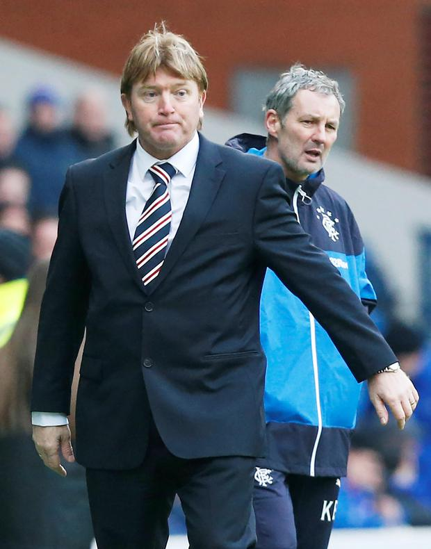 Fine by me: Stuart McCall understands why the Hearts-Rangers game was rescheduled