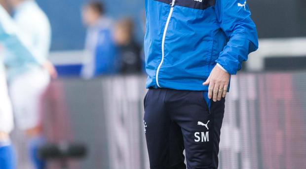 Tough test: Stuart McCall is expecting a tough second leg