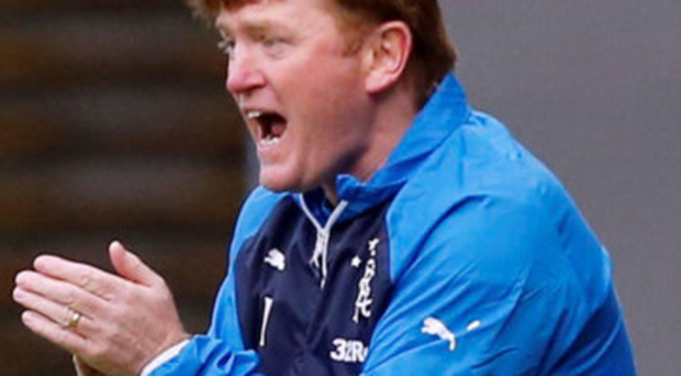 Chance: Stuart McCall believes Rangers can win away