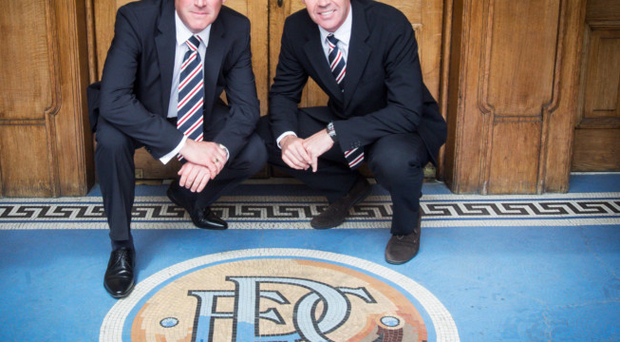 Looking ahead: Mark Warburton and David Weir must now bolster Rangers' playing options after taking over the reins at Ibrox