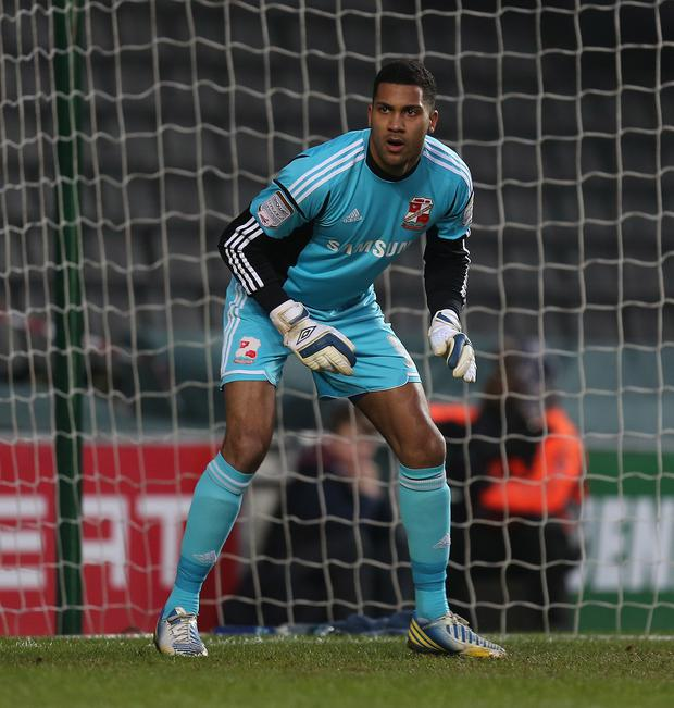 Shot-stopper: Wes Foderingham has signed a three-year deal