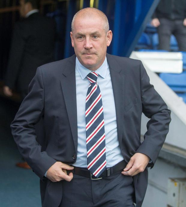 Mark Warburton has said he only wants to sign players who want to play for Rangers