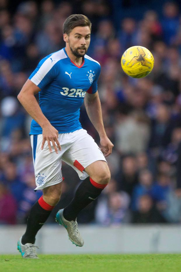 On way out: Darren McGregor has left Rangers