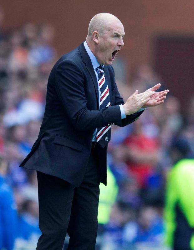 Rangers' manager Mark Warburton