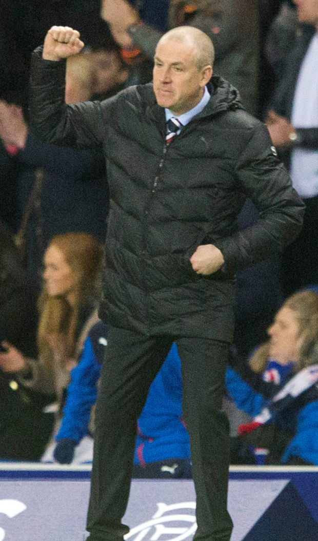 Busy January: Mark Warburton is freshening up his Gers squad