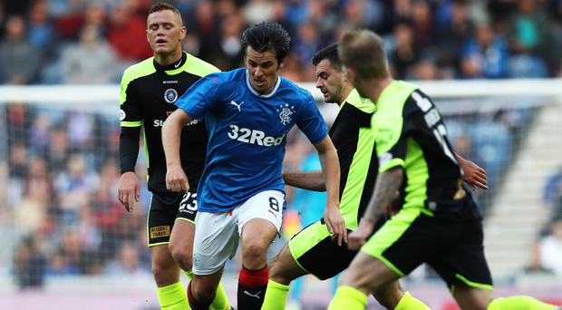 Joey Barton is set hold clear the air talks with Rangers manager Mark Warburton